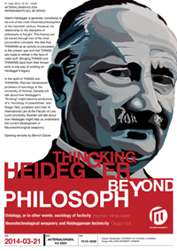 thingking heidegger