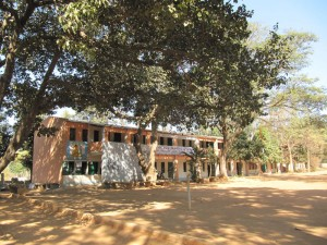 En skola i en by i Indien, utanför Bangalore