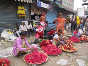 Färglada Indien