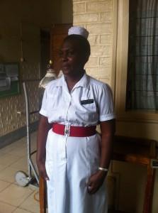 Så här ser sjuksköterskorna ut i Uganda!
