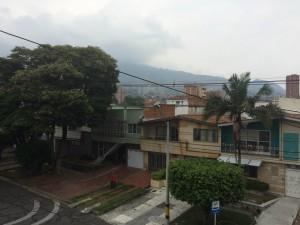 Utsikten från vår lägenhet, Medellin.