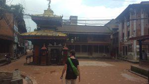 Bhaktapur, följande Lonely Planets route.
