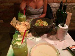 Vi har ätit såå god Guacamole!