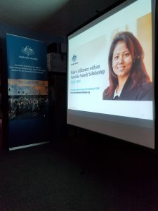 Australia Awards Nepal information session