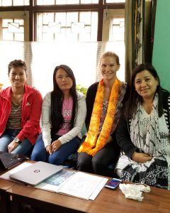 Me and the National Indigenous Disabled Women Association Nepal (NIDWAN).