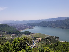 3h trek to Sarangkot View Point - here photo of Pokhara