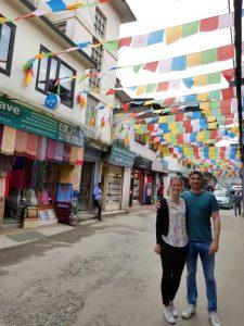 My husband and I in Kathmandu