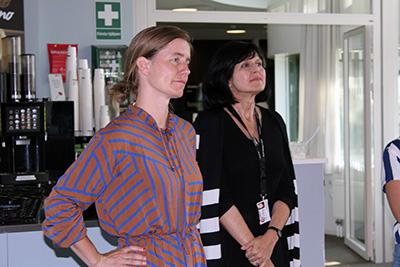 Kristina Lindström och Maja Povrzanovic Frykman