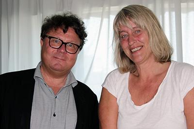Carl-Magnus Carlsson och Benedikte Borgström